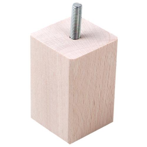 Pata fija de madera hasta 10,8 cm