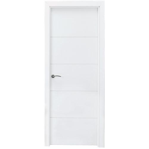 Puerta lucerna blanca de apertura derecha de 72,5 cm