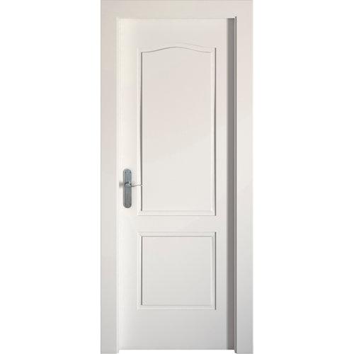 Puerta praga blanco de apertura derecha de 72.5 cm