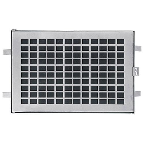 Puerta para registro de agua de acero galvanizado 41x30cm