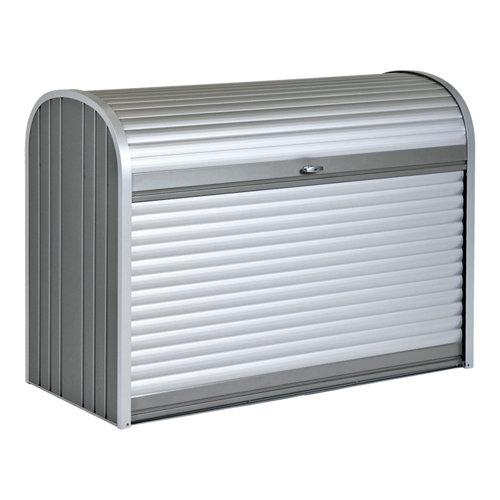 Arcón de exterior de acero storemax 163x120x78 cm