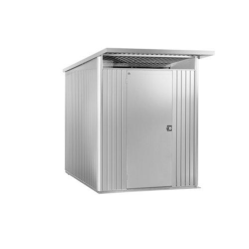 Caseta de metal avantgarde plata de 180x218x220 cm y 3.96 m2