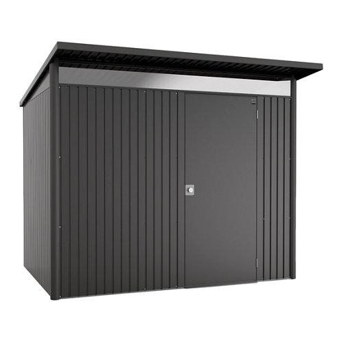 Caseta de metal avantgarde gris de 260x218x220 cm y 5.72 m2