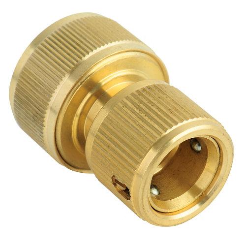 Conector rápido natrain de latón 12.5, 15 o 19mm