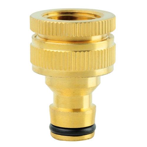 Adaptador de grifo natrain de latón 12.5, 15 o 19mm