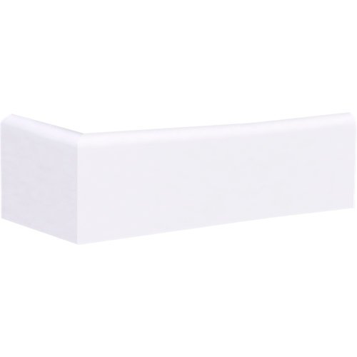 Rodapié blanco melamina 7 cm