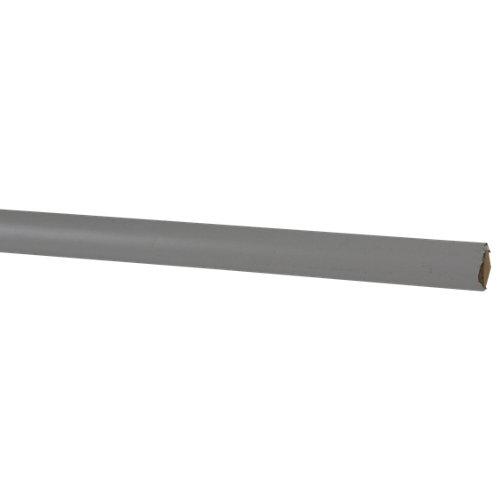 Junquillo de mdf melamina blanca 15x15 mm x 2,43 m (ancho x grueso x largo)