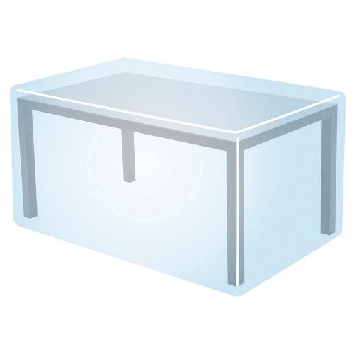 Funda de protección para mesa y sillas de poliéster 225x115x80 cm