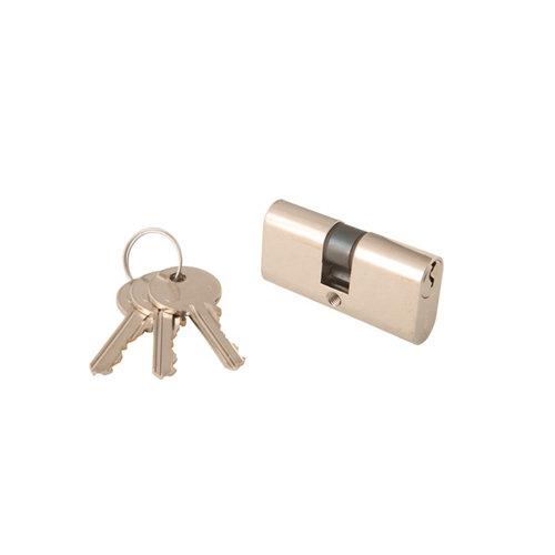 Cilindro elíptico tesa cil oval niquelado de 22.5 + 22.5 mm