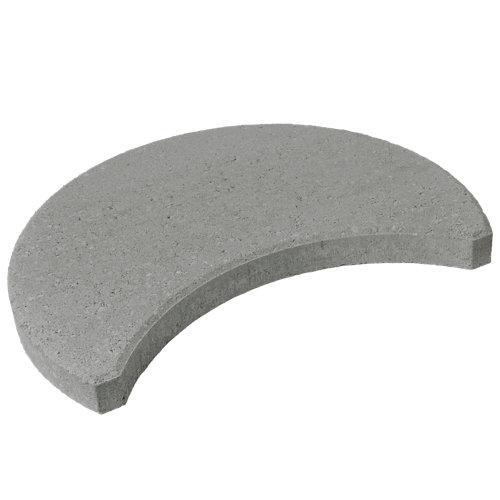 Paso japones kioto 30x55x0,5 cm gris