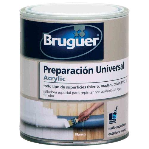 Imprimación - selladora universal bruguer de 0,25l color blanco