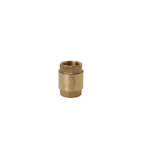 Válvula antiretorno de latón de 19mm