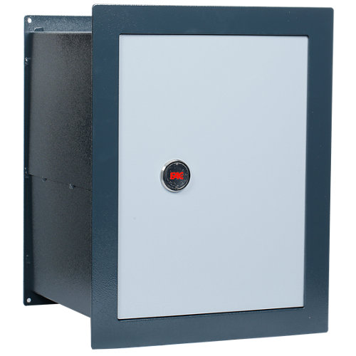 Caja fuerte de fijar o empotrar en la pared fac 5452 38x48.5x31 cm