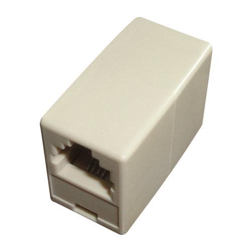 Adaptador de 4 vías para cable de teléfono