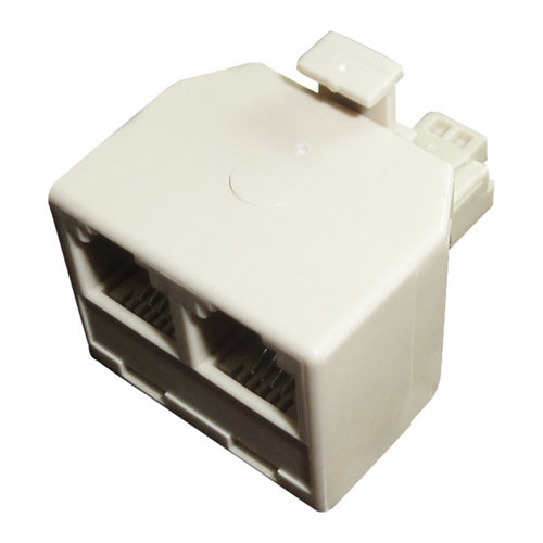 Adaptador doble para cable de teléfono