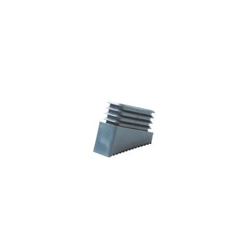 2 contera de plástico rectangulares de 20 x 33 mm