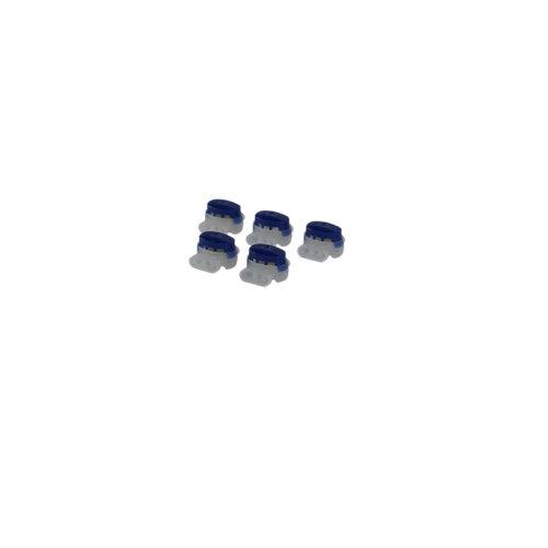 Pack de 5 conectores estancos con gel hasta 1,5 mm²