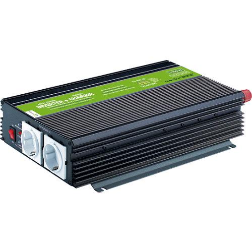 Inversor-cargador onda modificada mjc-xunzel-1200w-12v-10a con cables incluidos