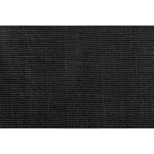 Tela en bobina negra lino ancho 280cm