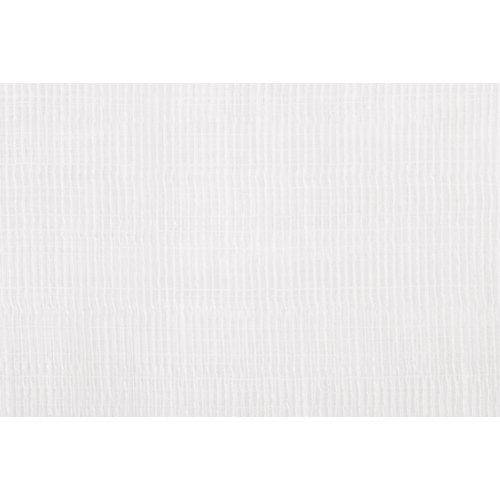 Tela en bobina blanca lino ancho 280cm