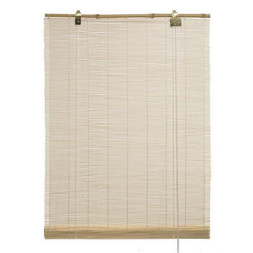 Estor enrollable de bambú salinas natural 150x200 cm