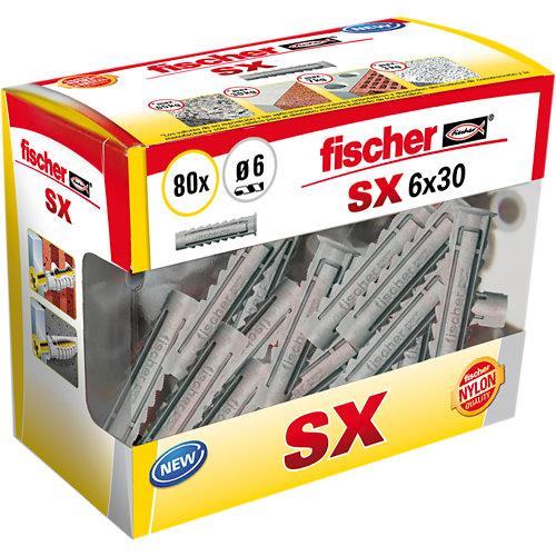 80 tacos de nailon para material macizo de 25 mm y ø6 mm