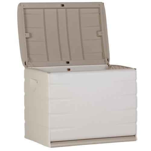 Baúl de plástico de 61x80x53 cm y capacidad de 260l