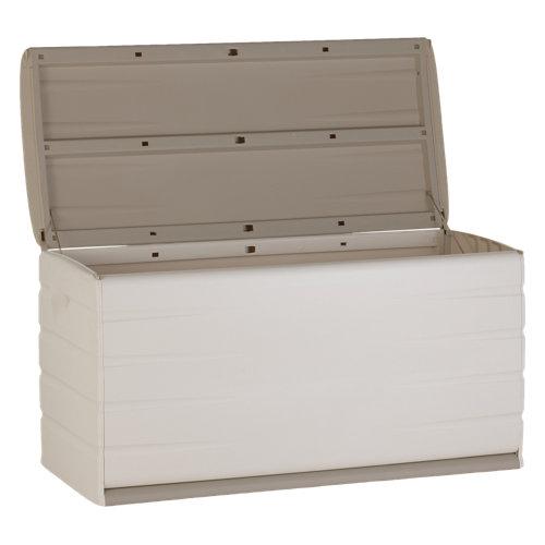 Baúl de plástico de 61x120x53 cm y capacidad de 400l