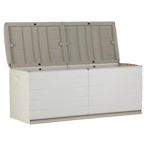 Baúl de plástico de 61x153x53 cm y capacidad de 500l