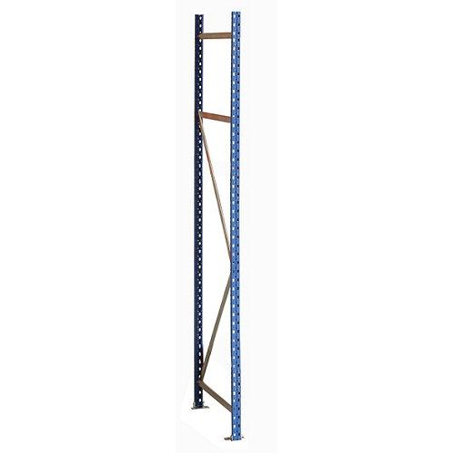 Bastidor metálico rack o estantería pintado de 200 cm de alto