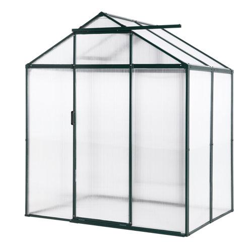 Invernadero de metálico 184x213x129 cm