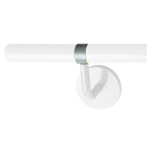 Asidero baño soporte fijación pasamanos para ducha gris / plata 10.5x17.5 x cm