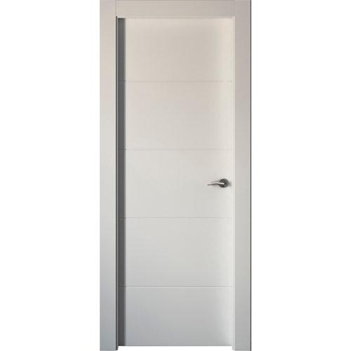 Puerta holanda blanco de apertura izquierda de 72.5 cm