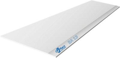 Placa Cartón/Yeso laminado Blanco N 120x200x1,3 cm