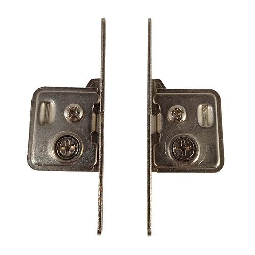 Enganche para frontal de cajón de acero y 70x145 mm