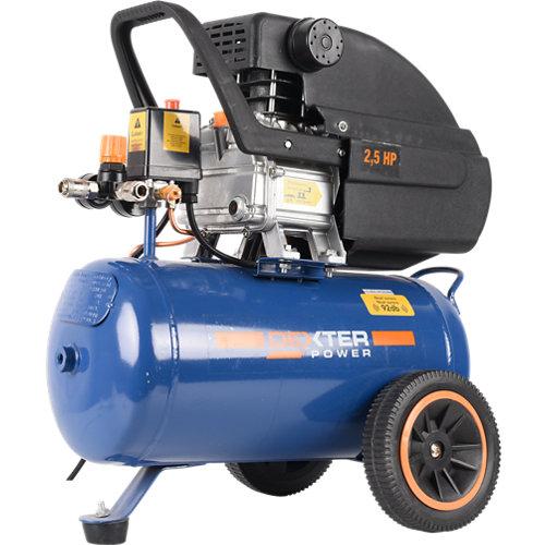 Compresor dexter 25 de 2.5 cv y 24l de depósito