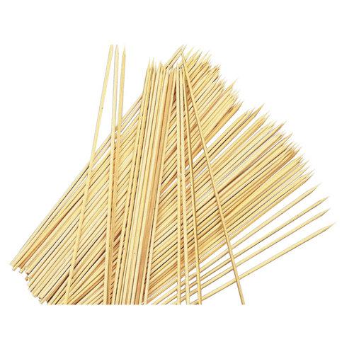 Brochetas de bambú 25.5x1 cm