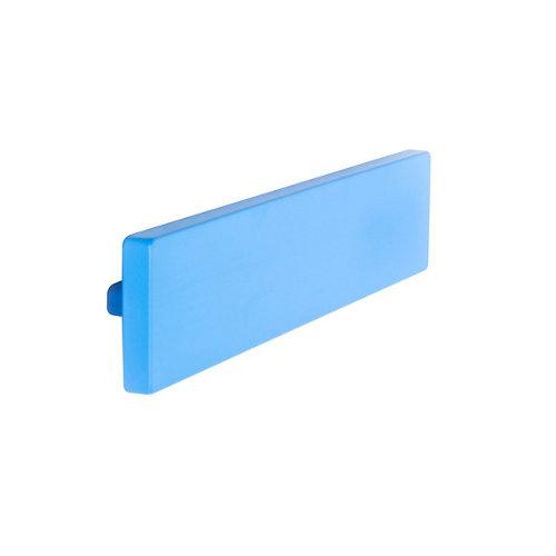 Tirador de mueble de abs lacado 40x21 mm