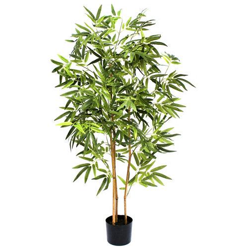 Árbol artificial en maceta bambú 123 cm