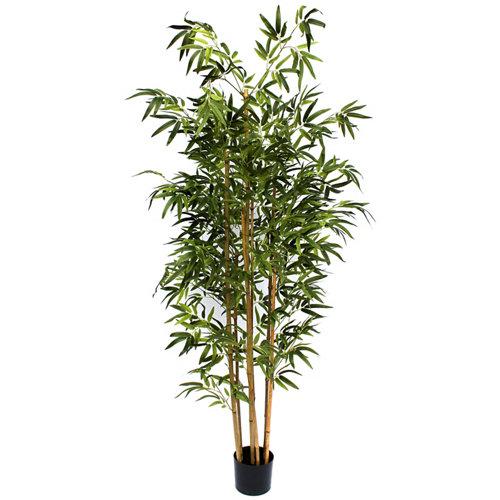 Árbol artificial en maceta bambú 182 cm