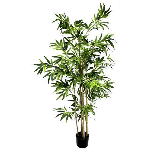 Árbol artificial en maceta bambú 152 cm