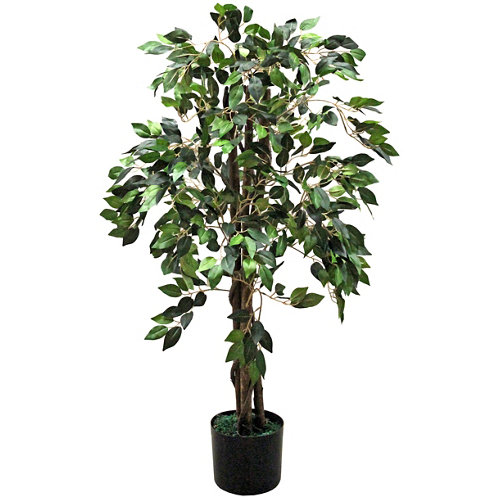 Árbol artificial en maceta ficus 123 cm