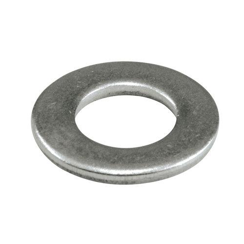 50 arandela plana estrecha en acero inoxidable de 4 mm de ø interior