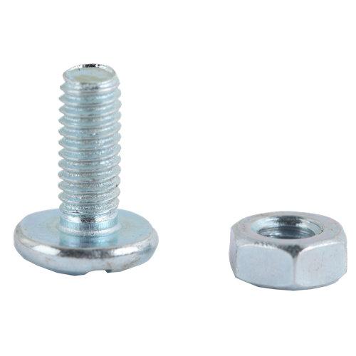 20 tornillo de métrica en acero con cabeza redonda y 10 mm