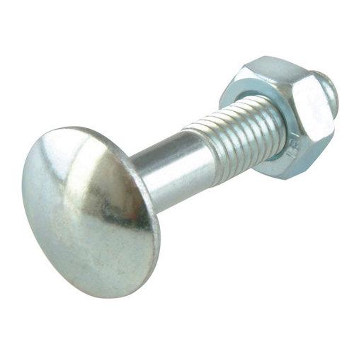 6 tornillo de métrica en acero con cabeza redonda y 30 mm