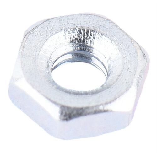 Pack 100 tuercas de 6 caras de acero de 4 mm ø interior