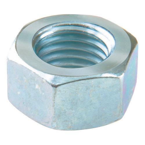 4 tuerca hexagonal de acero cincado