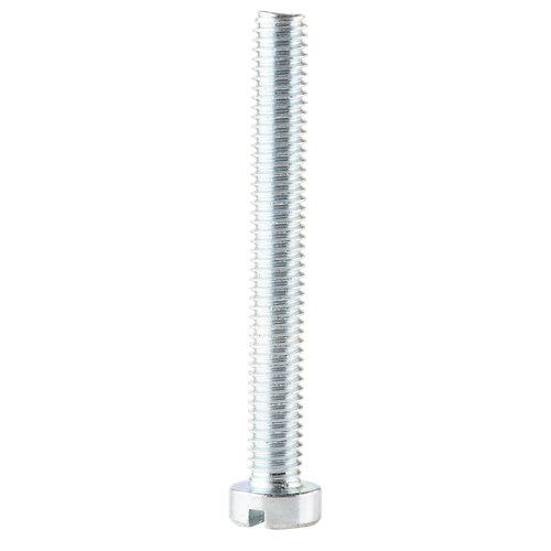 6 tornillo de métrica en acero con cabeza cilíndrica y 60 mm