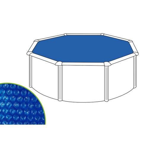 Cubierta de verano naterial redonda de polietileno 455x455 cm