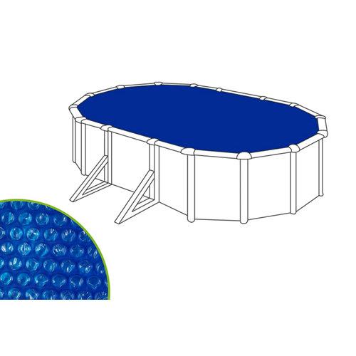 Cubierta de verano naterial ovalada de polietileno 370x725 cm